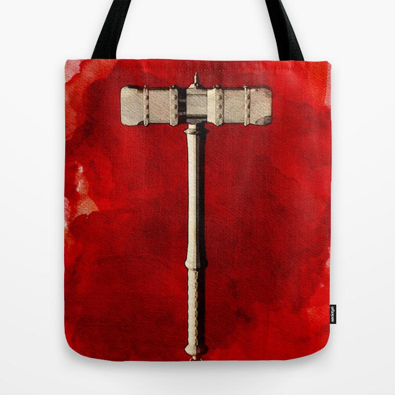 Hammer Of Thor Tote Bag by Esotericaartagency TBG8805591