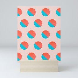Abstraction_DOT_LOVE_002 Mini Art Print