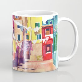 Laundry in Venice Coffee Mug