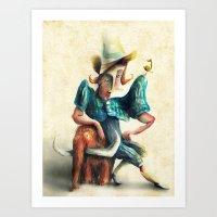 Petit Mamut Art Print