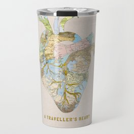 A Traveller's Heart (UK) Travel Mug