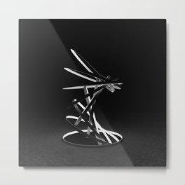 Escalation Metal Print
