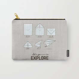 Let's go explore Carry-All Pouch