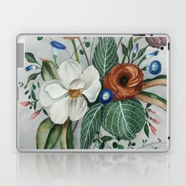 Moody Magnolia Arrangement Laptop & iPad Skin