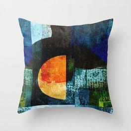 Half Moon Serenade Throw Pillow