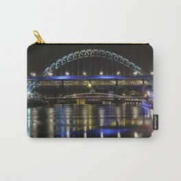 Newcastle upon Tyne at night Carry-All Pouch