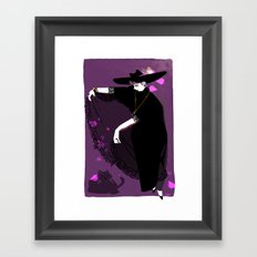 Witchy Framed Art Print