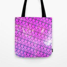 Ankh Pattern Tote Bag