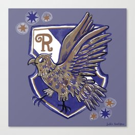 Ravenclaw House Crest Canvas Print