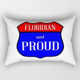 Floridian And Proud Rectangular Pillow