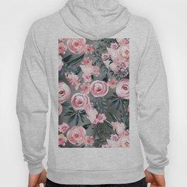 Night Rose Garden Hoody