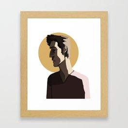 scott mccall Framed Art Print