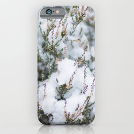 White Winter Hymnal iPhone Case