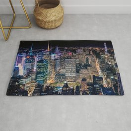 Over Times Square Rug
