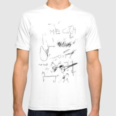 out street 6 White Mens Fitted Tee MEDIUM
