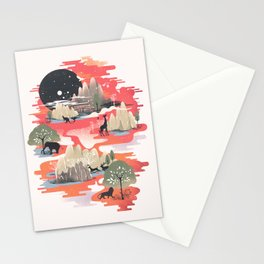 Landscape of Dreams Stationery Cards