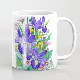 Iris Ikebana Coffee Mug