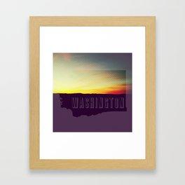 Washington  Framed Art Print