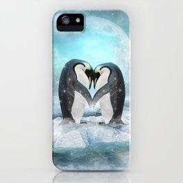 Listen Hard (Penguin Dreams) iPhone Case