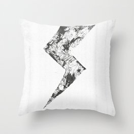 The morning after the storm. Throw Pillow