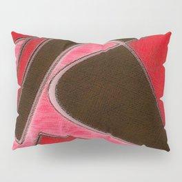 Red Denim Sampler Pillow Sham