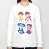 haikyuu Long Sleeve T-shirts featuring CCS captains by JohannaTheMad
