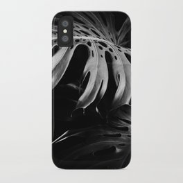 Nature monstera iPhone Case