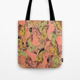 Butterfly Wings - Coral Pink Tote Bag