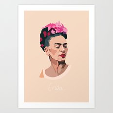 Frida Kahlo - Artist Series Art Print