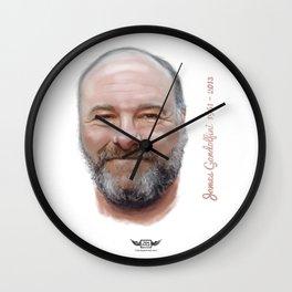 James Gandolfini Wall Clock