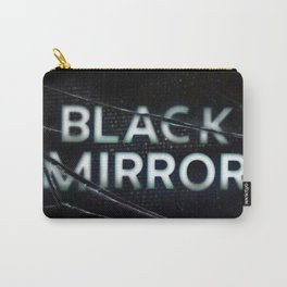 black mirror Carry-All Pouch