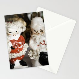 Mr and Mrs Santa Claus Stationery Cards