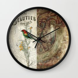 Vocal Beauties Wall Clock