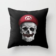 It's A-Me, Dead Mario! Throw Pillow