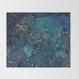 Star Map :: City Lights Throw Blanket