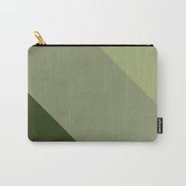 Pine Moss Sage Diagonal  Carry-All Pouch