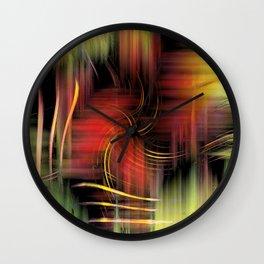 Digital Art Wall Clock