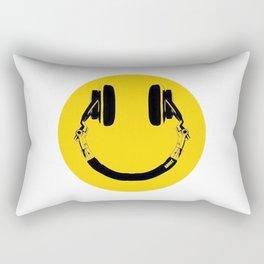 Music Smile Rectangular Pillow