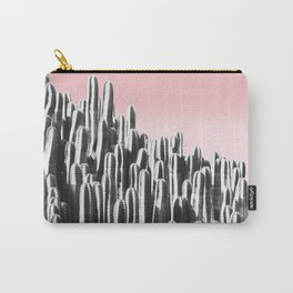 Cactus B&W & Sunset Carry-All Pouch