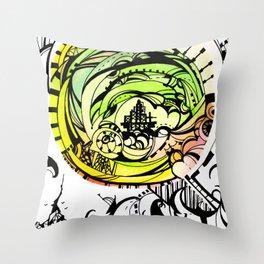 Compass Journey Throw Pillow