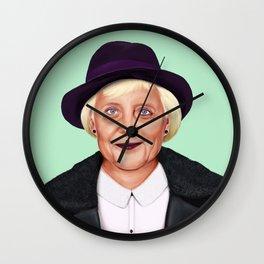 Hipstory -  Angela Merkel Wall Clock