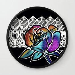 Rose- Catalyst Gardens Wall Clock