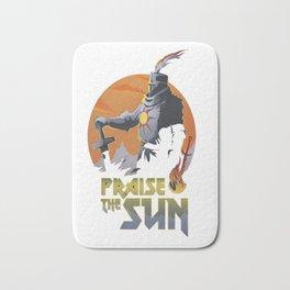 praise the sun Bath Mat