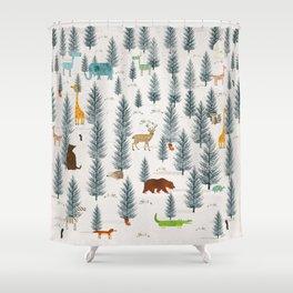 little nature Shower Curtain