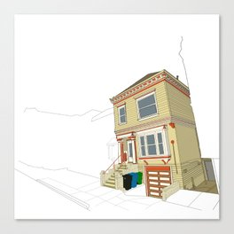 Mike's House Canvas Print