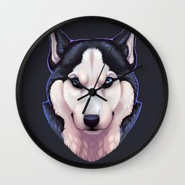 Ice Eyes Wall Clock
