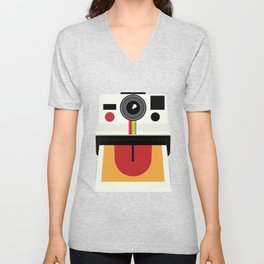 Polaroid Unisex V-Neck