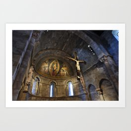 Church at the Cloisters, NYC. Art Print