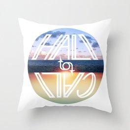 Hali to Cali Throw Pillow