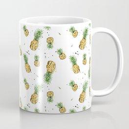 Small Pineapple Pattern Coffee Mug